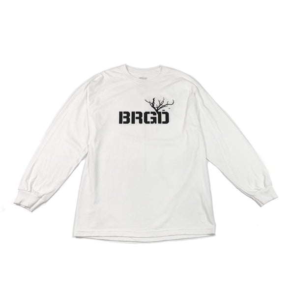 Structure BRGD Long Sleeve T-Shirt - White