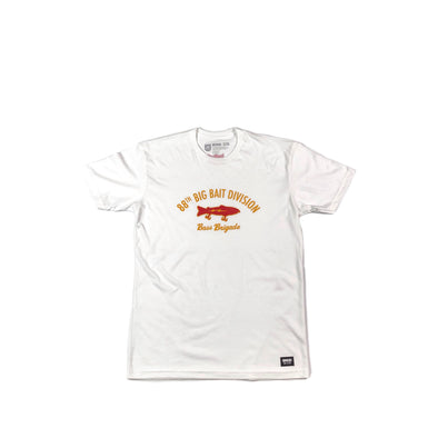 88TH BIG BAIT DIVISION TEE  - WHITE