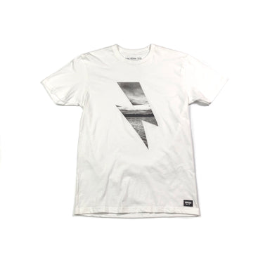 PHOTO BOLT TEE - WHITE