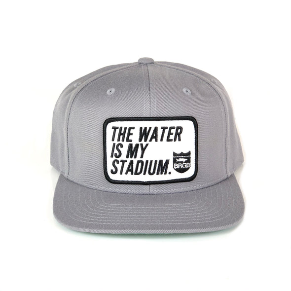 TWIMS Patch SnapBack Hat - Grey