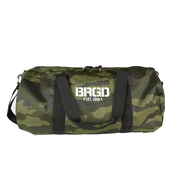 Bass Brigade Duffle Bag - Woodland Camo