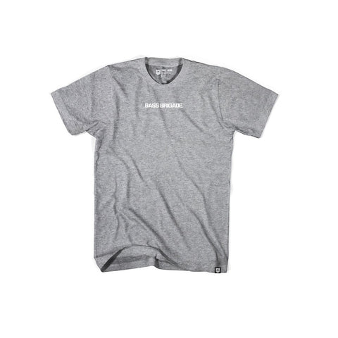 Bass Brigade Premium Soft Tee - Athletic Heather/White