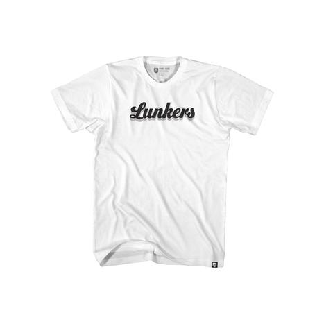 Lunkers Tee - White/Black