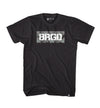 BOX BRGD CARBON CAMO TEE - BLACK