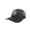BB SKULL HAND TRUCKER - BLACK RETRO