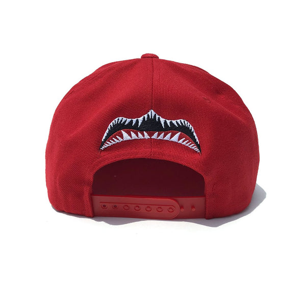 Biters Get Served Snapback Hat - Red