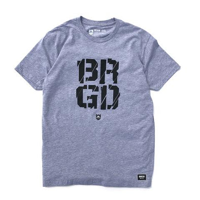 Broken Box Tee - Graphite Heather