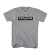 BOX TWIMS BLACK TEE - GRAPHITE HEATHER