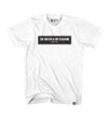 BOX TWIMS BLACK TEE - WHITE
