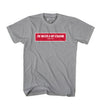 BOX TWIMS RED TEE - GRAPHITE HEATHER