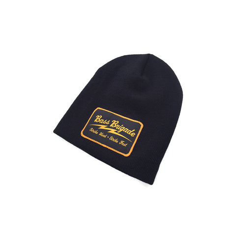 Bass Brigade SHSF Heavyweight Knit Cap - Black