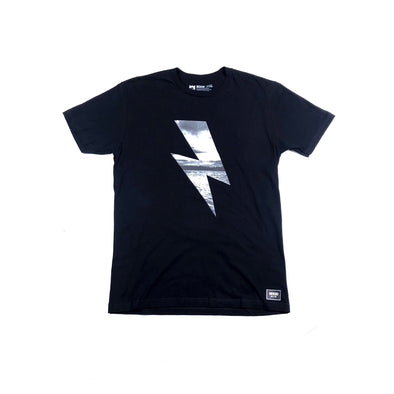 PHOTO BOLT TEE - BLACK