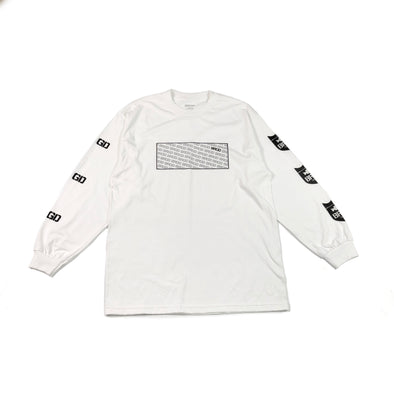 Standout Long Sleeve T-Shirt - White