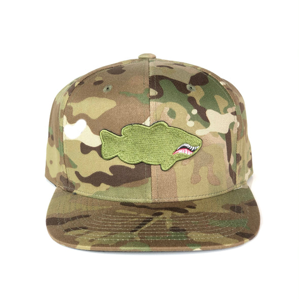FIGHTER PATCH SNAPBACK - Multicam