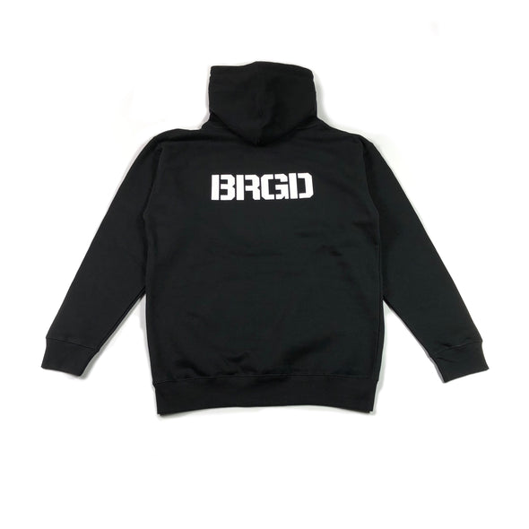 Shield BRGD Pull-Over Hoodie - Black