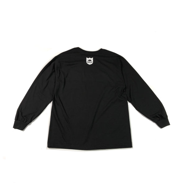 Structure BRGD Long Sleeve T-Shirt - Black