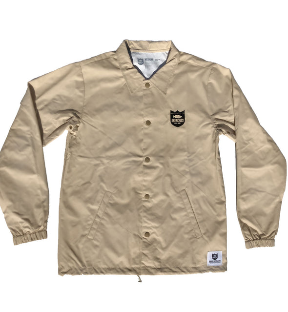 BRGD Riders Coaches Jacket - Khaki