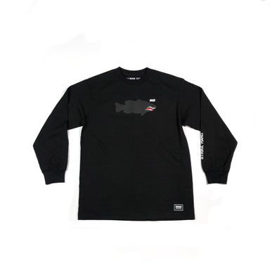 FIGHTER LUNKER L/S TEE  - BLACK