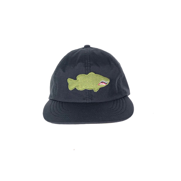 FIGHTER PATCH PERFORMANCE HAT - BLACK