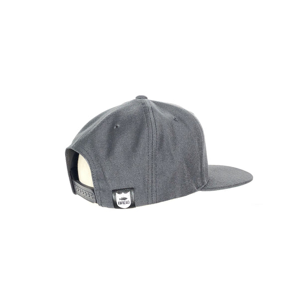 FIGHTER PATCH SNAPBACK - DARK GREY