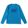 Frame Logo Performance L/S Tee - Atomic Blue/Navy