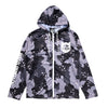 Lake Camo UV Cut Zip Hoodie - Lake Camo Black