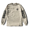 BRGD RIDERS LS TEE - SAND