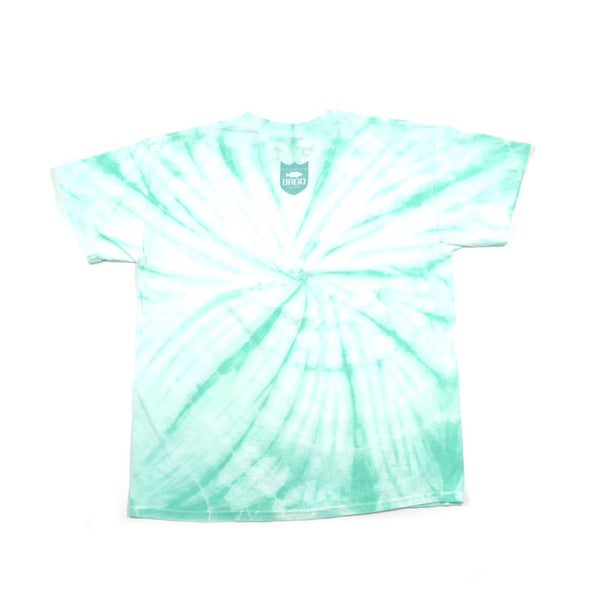 SHIELD TIE DYE TEE - MINT