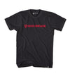SHIELD WORDMARK TEE - BLACK