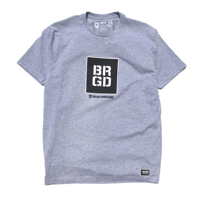SQUARE BOX TEE - GRAPHITE HEATHER