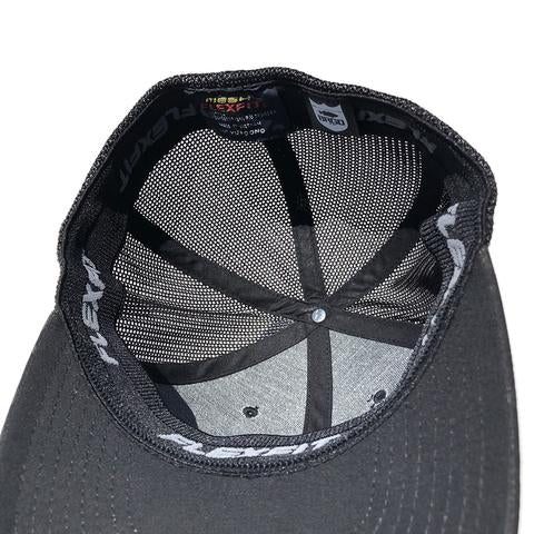 SHIELD LOGO FLEXFIT TRUCKER HAT - MULTICAM/BLACK MESH