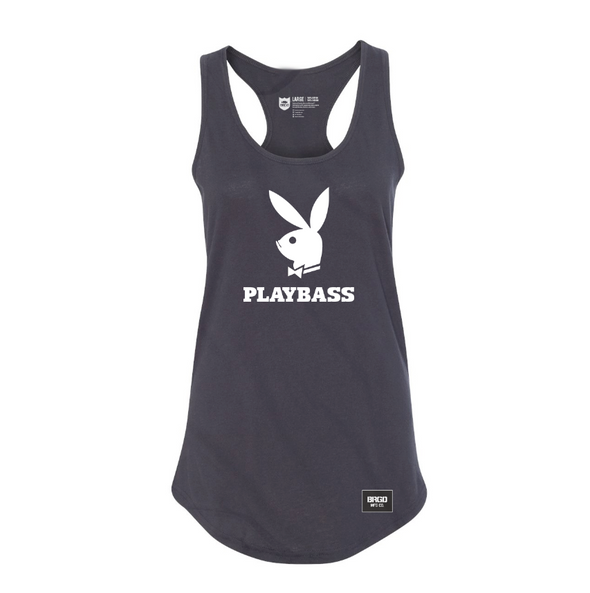 Playbass Racerback Tank- Black