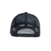 Bass Jump Trucker Hat - Black Retro Trucker Hat