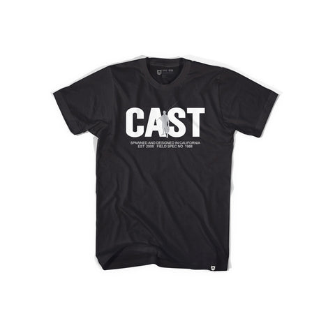 Bass Brigade Cast Tee - Black
