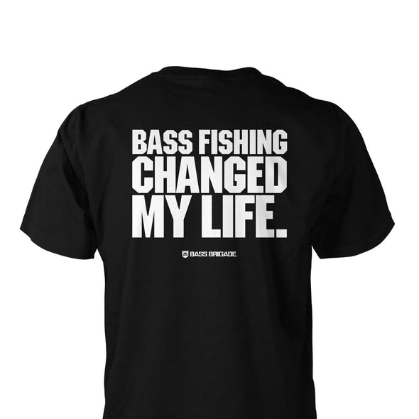 Bass Brigade My Life Pocket Tee - Black