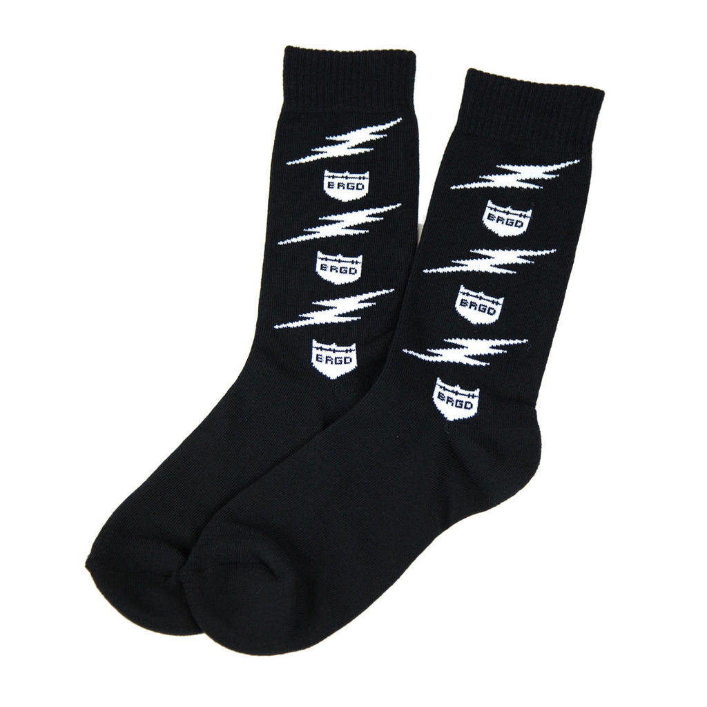 Lightning Bolt Crew Socks