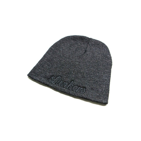 Bass Brigade Lunkers Heavyweight Knit Cap - Charcoal