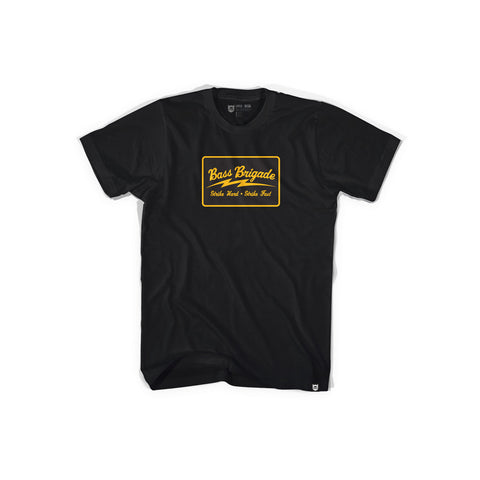 Bass Brigade SHSF Tee - Black/Gold