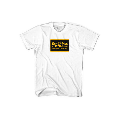Bass Brigade SHSF Tee - White/Gold