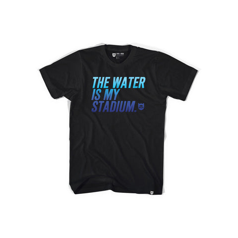 Bass Brigade Stadium Sport Tee - Gradient Black