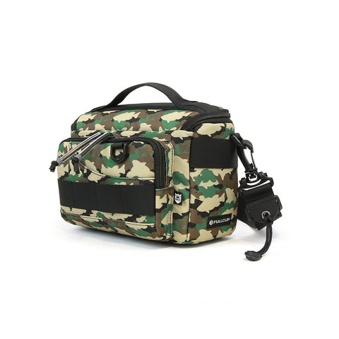 BASS BRIGADE X FULLCLIP 2BLOCK REVISION FISHING BAG - WOODLAND CAMO