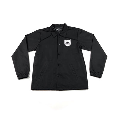 BRGD FRAME COACHES JACKET BLACK/WHITE