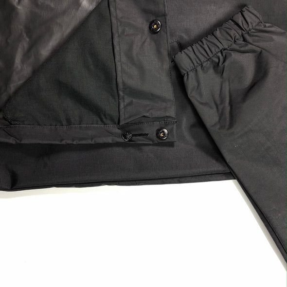BRGD FRAME COACHES JACKET BLACK/OLIVE