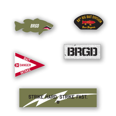 Bass Brigade Sticker Pack FW '19