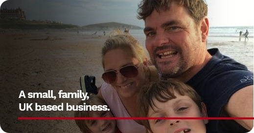 A small, family, UK based business