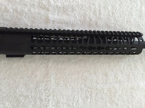 "16"" Upper Minus BCG & Charging Handle with 12"" Key Mod Free Float Rail"
