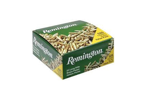 Remington 36 Grain .22LR 525 Rounds Ammo