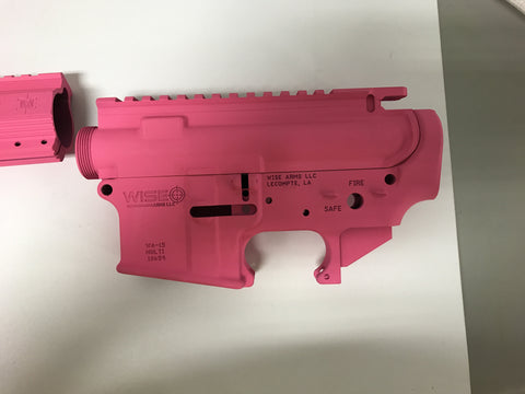 Wise Arms Cerakoted Build Kit ( Pink )