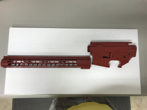 Wise Arms Cerakoted Build Kit ( Blood Red )