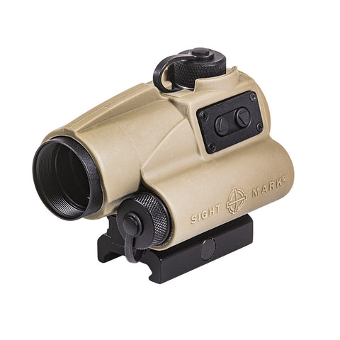 Wolverine 1x23 CSR Red Dot Sight - Dark Earth